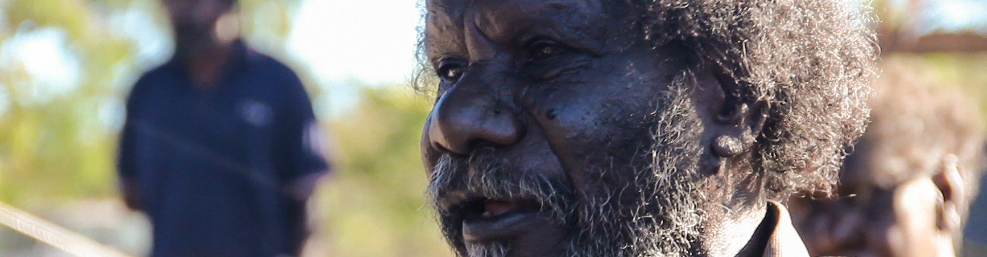 Elder from Aurukun